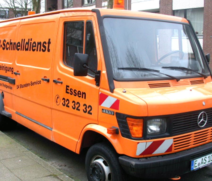 Fahrzeug Abfluß Schnelldienst Gladbeck UG.